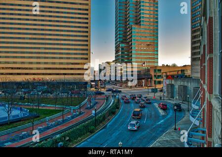 Downtown Lexington Kentucky - Stock Image