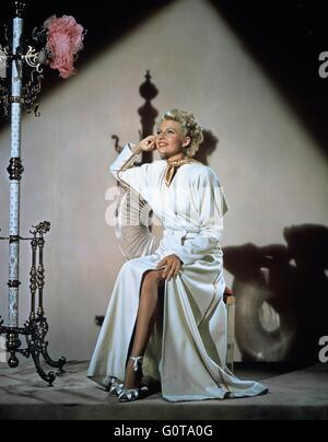 Rita Hayworth / The Lady From Shanghai / 1948 directed by Orson Welles (Columbia Pictures) - Stock Image