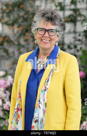 Hay Festival, Hay on Wye, Powys, Wales, UK - Thursday 30th May 2019 - Prue Leith author and cooking presenter at the Hay Festival to talk about her fiction and food books. Photo Steven May / Alamy Live News - Stock Image
