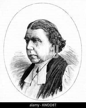 Portrait of Dr Archibald Campbell Tait (1811-1882), Archbishop of Canterbury (1868-1882), - Stock Image