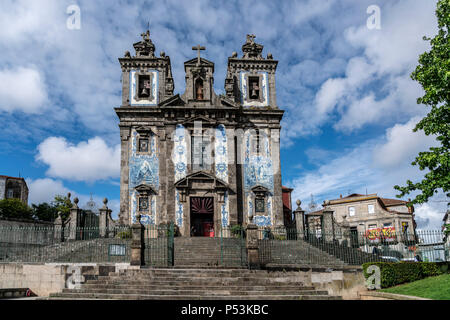 Santo Idelfonso church , Porto, Portugal - Stock Image
