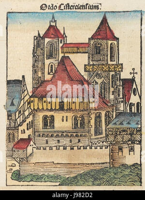 Nuremberg chronicles f 195v 1 - Stock Image