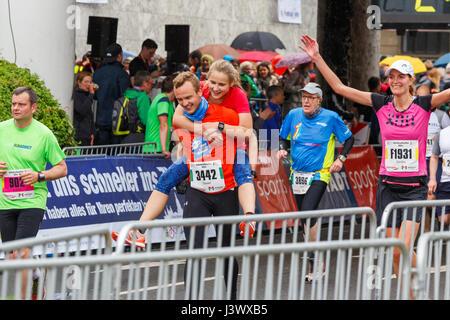 Gutenberg Marathon Mainz, Germany. 7th May 2017. - Stock Image