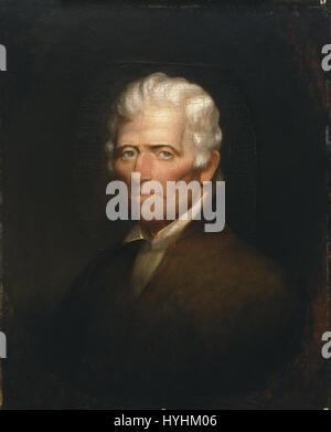 Chester Harding   Daniel Boone   Google Art Project - Stock Image