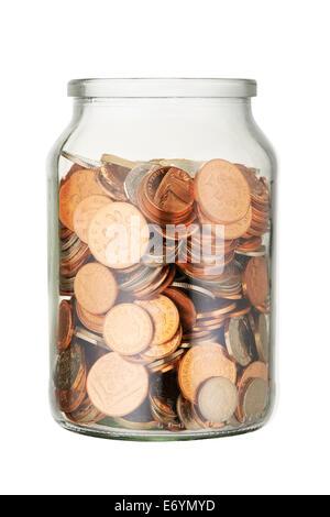 Savings Jar - Stock Image