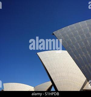 Sydney Opera House sails - Stock Image