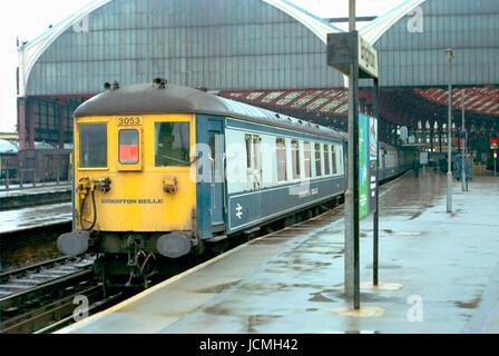 The Brighton Belle at Brighton Station -4 - Stock Image