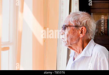***JULY 19, 2011 FILE PHOTO***   Czech dissident writer, script writer, translator and a political prisoner under the Communist regime, Jiri Stransky, - Stock Image