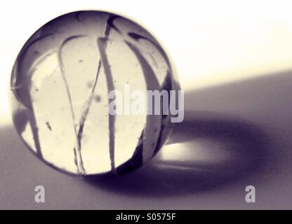 Marble in Sunlight. - Stock Image