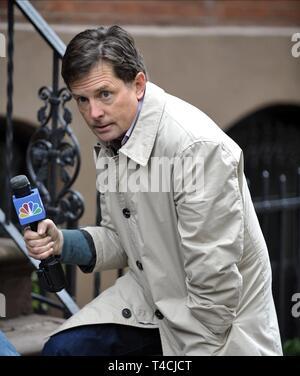 MICHAEL J. FOX, THE MICHAEL J. FOX SHOW, 2013 - Stock Image