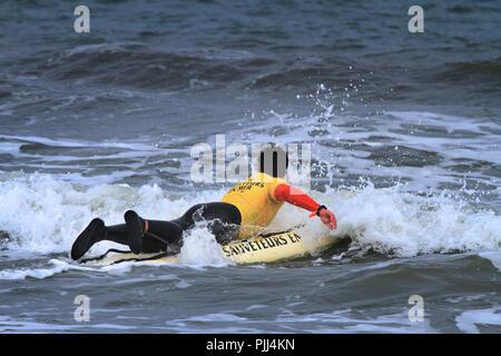 France,SNSM rescue. - Stock Image