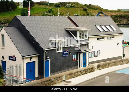 Kinsale lifeboat station, Ireland. - Stock Image
