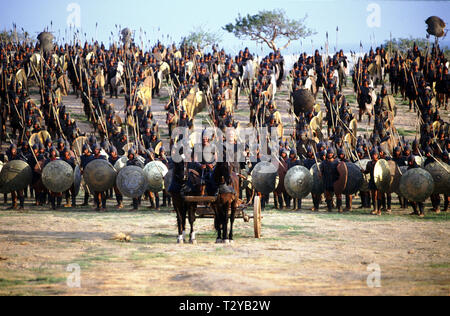 BRENDAN GLEESON, TROY, 2004 - Stock Image