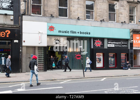 Fopp store, Union Street, Glasgow, Scotland, UK - Stock Image