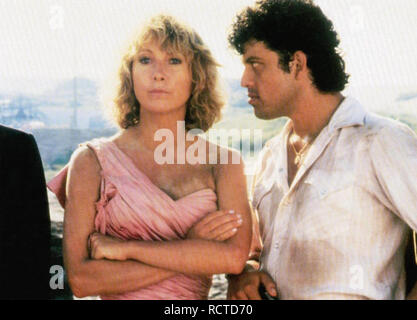 MIRACLES 1986 Orion Pictures film with Teri Garr and  Paul Rodriguez - Stock Image