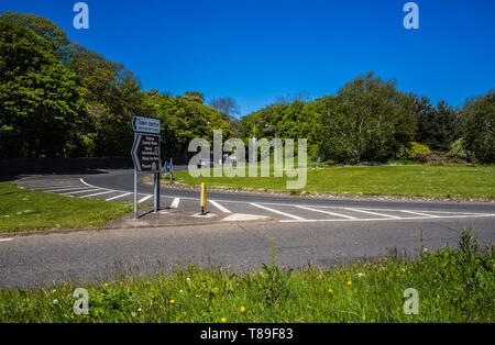 Groomsport Roundabout - Stock Image