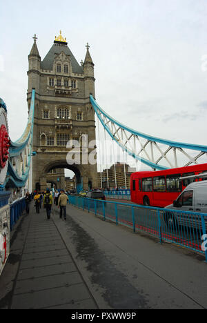 London Tower Bridge - Stock Image
