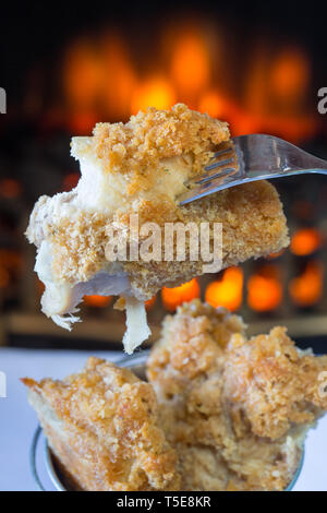 Southern fried Chicken thighs - Stock Image