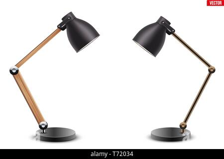 Set of Task table desk lamps - Stock Image