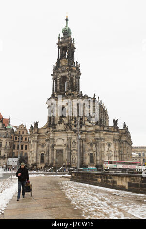 Germany, Dresden. Overview of Dresden Cathedral. Credit as: Wendy Kaveney / Jaynes Gallery / DanitaDelimont.com - Stock Image
