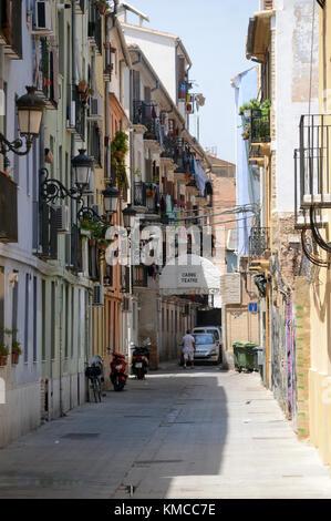 City of Valencia Spain-Ville de Valence en Espagne - Stock Image