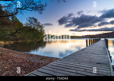 Coniston Water, Coniston, Lake District National Park, Cumbria, England, UK, Europe. - Stock Image