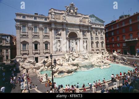 Trevi Fountain - Stock Image