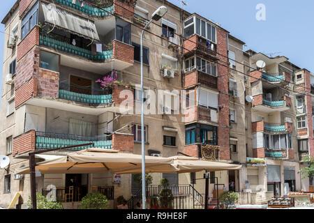Flats Tirana Albania - Stock Image