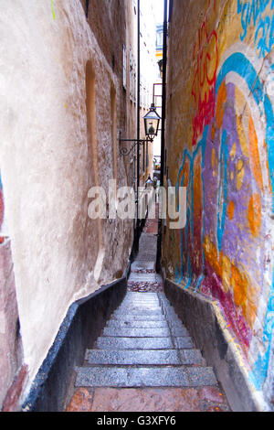 Small alley - Stock Image