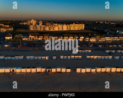 France, Hauts de France, Pas de Calais, aerial pic. Calais - Stock Image