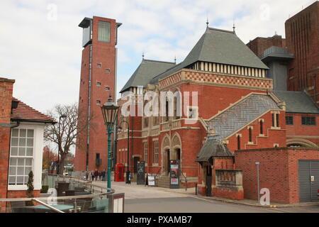 The Royal Shakespeare Company (RSC )Stratford Upon Avon - Stock Image