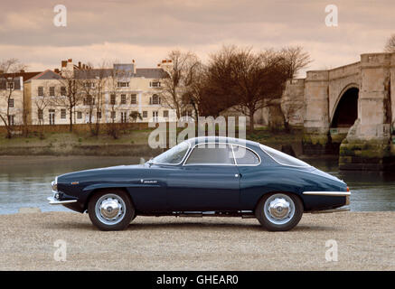 1964 Alfa Romeo 1.6 litre Giulia sprint speciale coupe. Country of origin Italy. - Stock Image