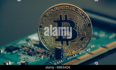 bitcoin - Stock Image