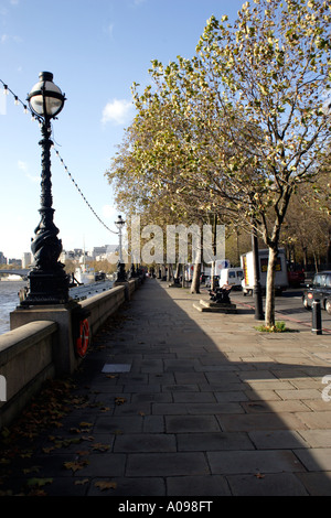 Victoria Embankment London - Stock Image