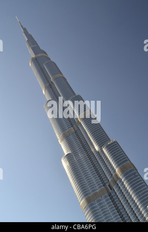 Burj Khalifa,  tallest building in world, Dubai, United Arab Emirates, - Stock Image