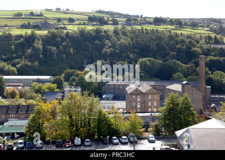 View of the town, Sowerby Bridge, West Yorkshire - Stock Image