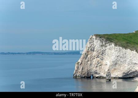 The Dorset coast near Durdle Door - Stock Image