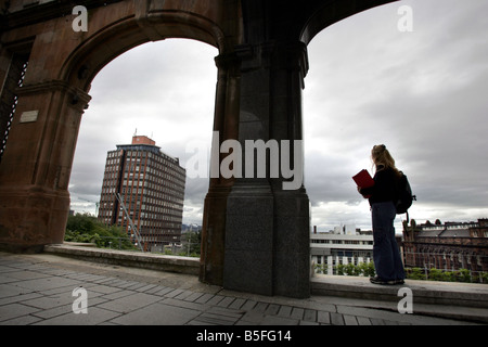 General View of Strathclyde University in Glasgow, Scotland - Stock Image