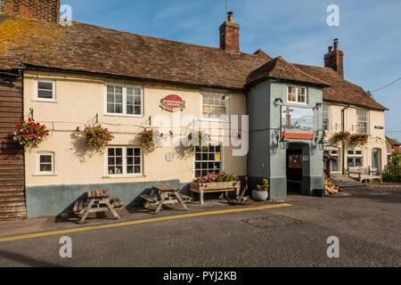 The Anchor,Pun,Restaurant,Abbey Road,Faversham,Kent,England - Stock Image