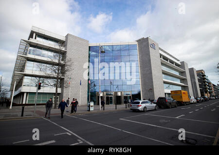 citibank europe hq Citi group offices 1 north wall quay north dock Dublin Republic of Ireland europe - Stock Image