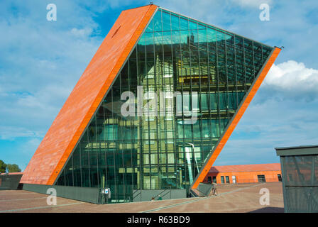 The Museum of Second World War, Gdansk, Poland - Stock Image