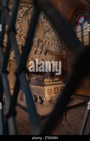 St Matthias Church Budapest Hungary - Stock Image