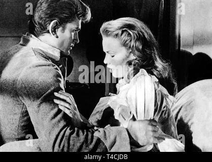 LANDON,MORROW, THE LEGEND OF TOM DOOLEY, 1959 - Stock Image