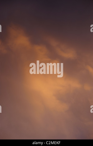 Clouds late afternoon - Stock Image