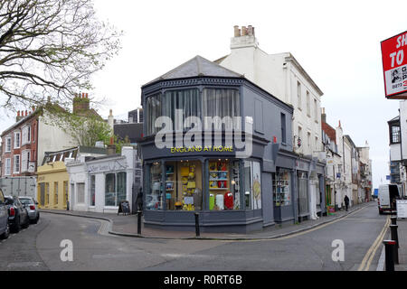 England at Home, furnishings and gift shop in Brighton United Kingdom - Stock Image