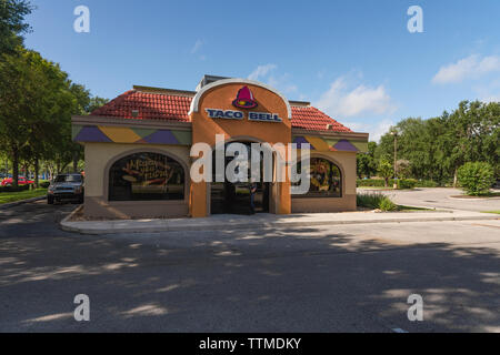 Taco Bell Building Exterior - Stock Image