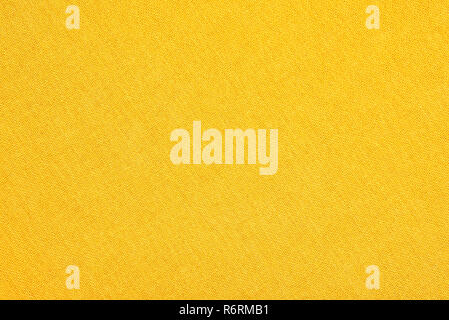 Abstract yellow fabric texture background. Book cover - Stock Image