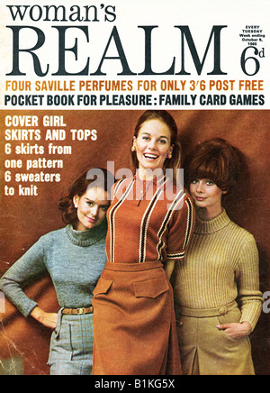 Woman's Realm Magazine for Women 9 October 1965 FOR EDITORIAL USE ONLY - Stock Image