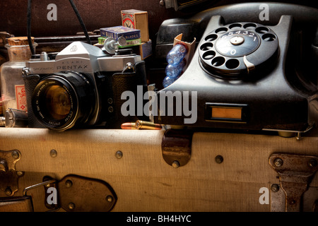 Attic still life - Stock Image