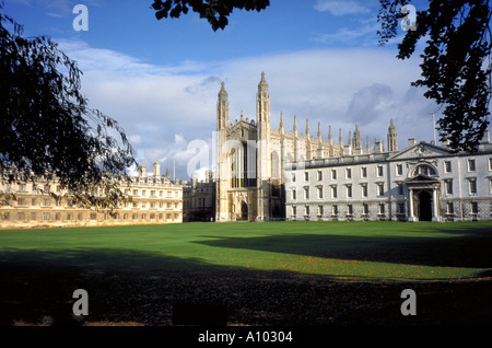 Kings College Cambridge England - Stock Image
